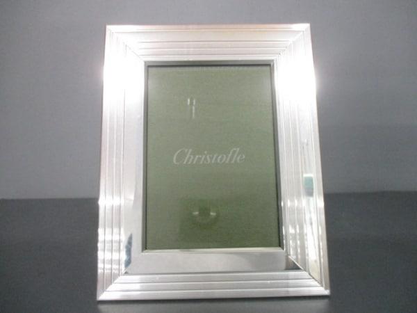 Christofle(クリストフル) 小物新品同様  シルバー×クリア 写真立て