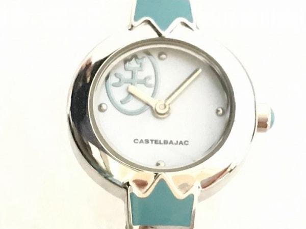 Castelbajac(カステルバジャック) 腕時計美品  JC-7378 レディース ライトブルー