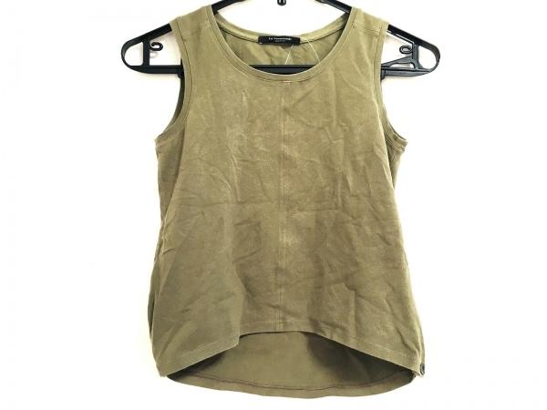 ルヴェルソーノアール ノースリーブTシャツ サイズ38 M レディース カーキ