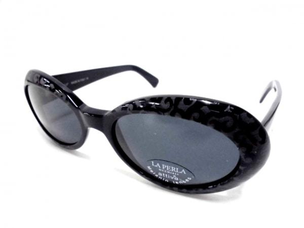 LAPERLA(ラペルラ) サングラス美品  SPE010 ダークグレー×黒 プラスチック
