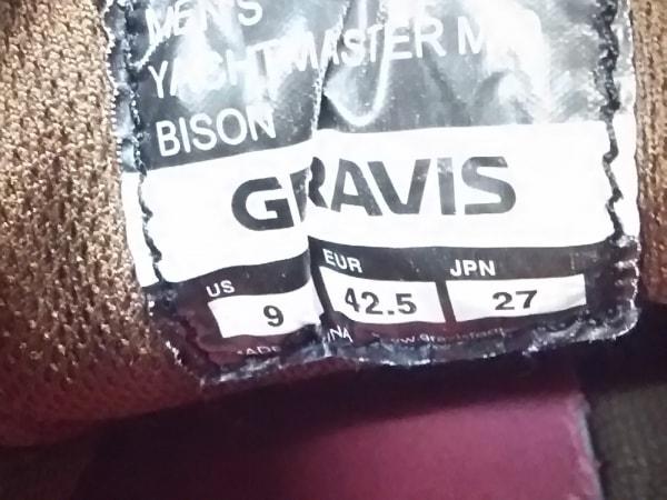 gravis(グラヴィス) シューズ メンズ ブラウン スエード