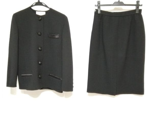 mila schon(ミラショーン) スカートスーツ サイズ42 M レディース 黒