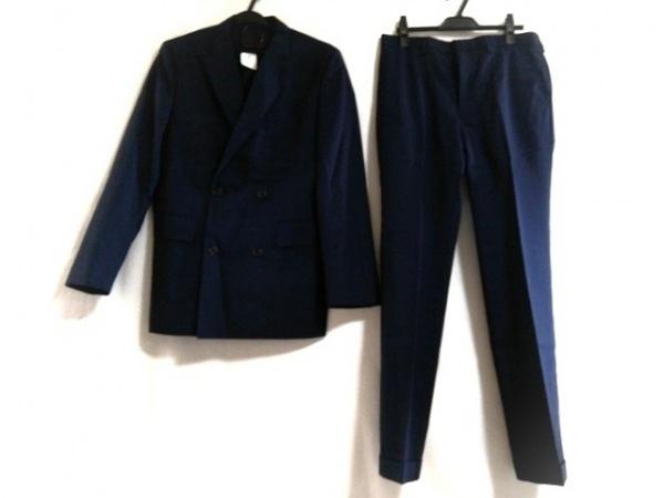 EPOCA(エポカ) ダブルスーツ サイズ46 XL メンズ新品同様  ネイビー UOMO