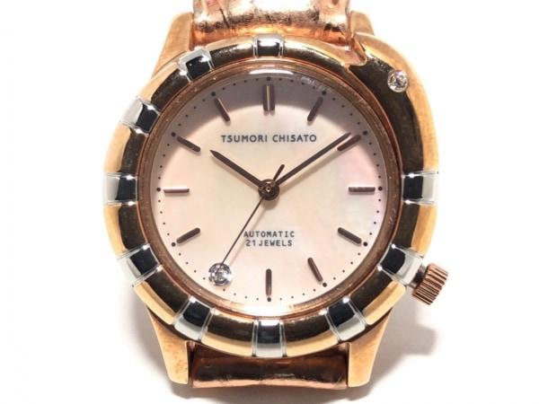 ツモリチサト 腕時計 ウロボロス YD03-0020 レディース ヘビ/シェル文字盤