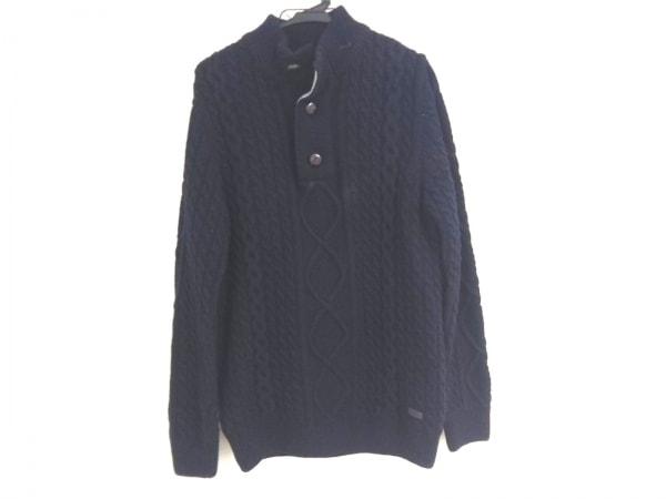 Barbour(バーブァー) 長袖セーター メンズ ダークネイビー