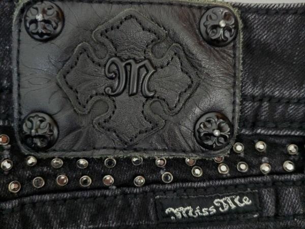 MissMe(ミスミー) ジーンズ サイズ28 L レディース 黒 ラインストーン