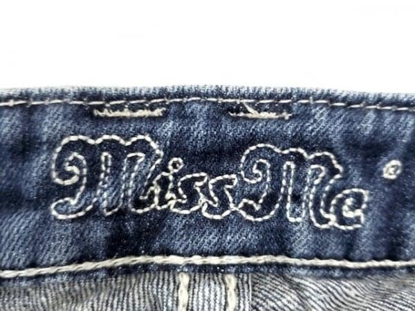 MissMe(ミスミー) ジーンズ サイズ27 M レディース新品同様  ネイビー スタッズ
