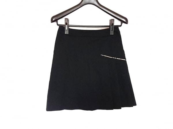 BURBERRYGOLF(バーバリーゴルフ) スカート サイズ7 S レディース美品  黒