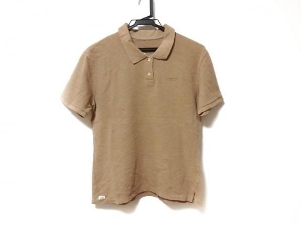 マドモアゼルノンノン 半袖ポロシャツ サイズ40L レディース ブラウン