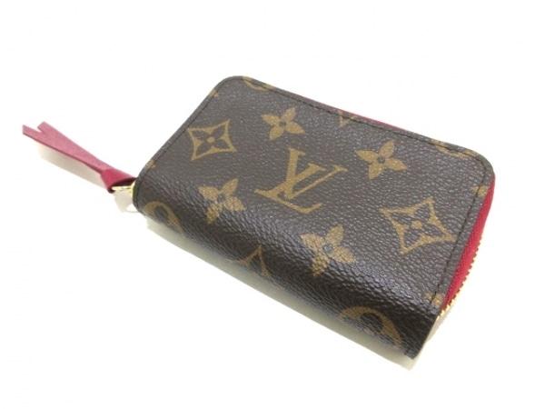 ルイヴィトン カードケース モノグラム美品  ミュルティカルト M61299 フューシャ