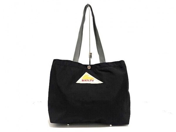 KELTY(ケルティ) トートバッグ美品  黒×グレー ナイロン