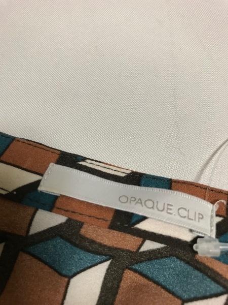 OPAQUE(オペーク) スカートセットアップ サイズ40 M レディース美品