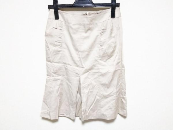 クードシャンス スカート サイズ38 M レディース ベージュ スリット
