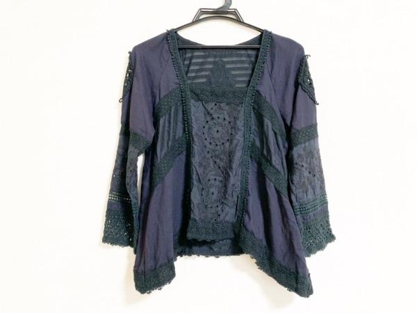 グレースコンチネンタル 長袖カットソー サイズ36 S レディース美品  黒