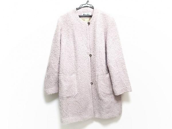 YUKIKO HANAI(ユキコハナイ) コート サイズ9 M レディース ピンク 冬物