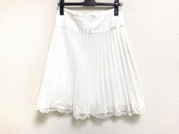 アプワイザーリッシェ スカート サイズ2 M レディース美品  白 レース