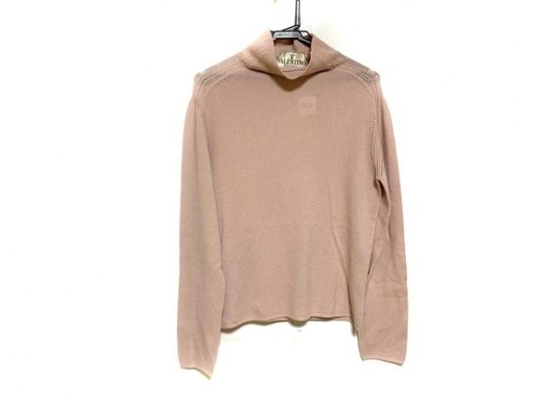 VALENTINO(バレンチノ) 長袖セーター サイズL レディース美品  ピンク
