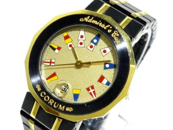 CORUM(コルム) 腕時計 アドミラルズカップ 39.610.31V52B レディース ゴールド