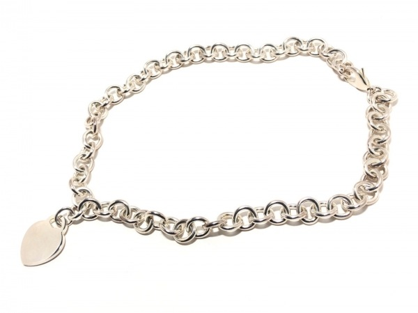 TIFFANY&Co.(ティファニー) ネックレス美品  ハートタグ シルバー