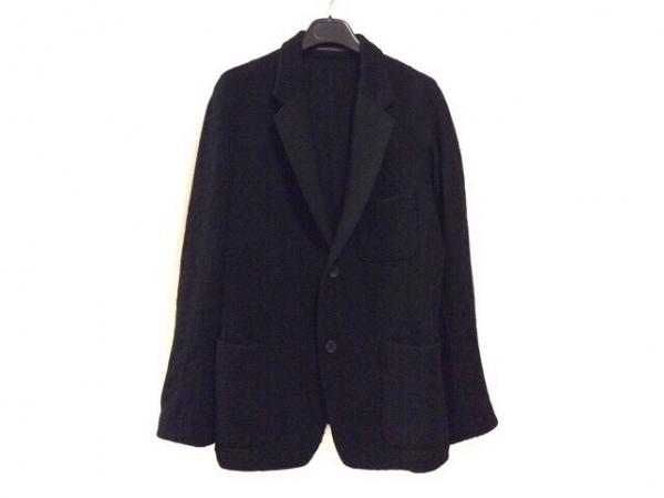 ヨウジヤマモト ジャケット サイズ2 M メンズ 黒 ニット/COSTUME D'HOMME/INDUSTYLE