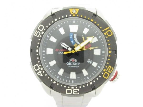 ORIENT(オリエント) 腕時計美品  M-FORCE EL0A-D0-B メンズ 黒