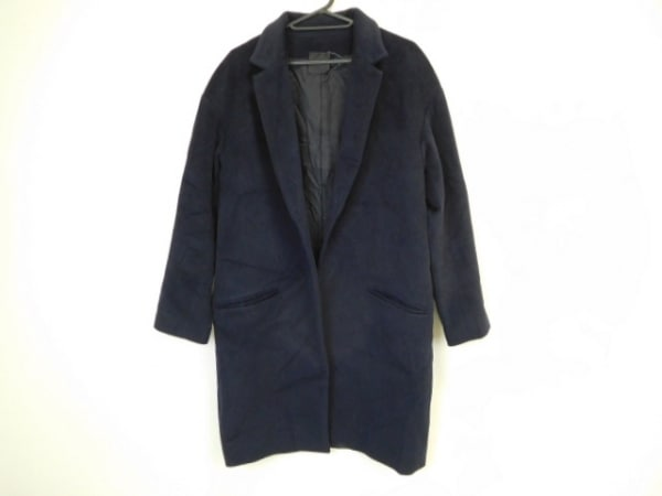 YOKO CHAN(ヨーコ チャン) コート サイズ38 M レディース美品  ダークネイビー 冬物
