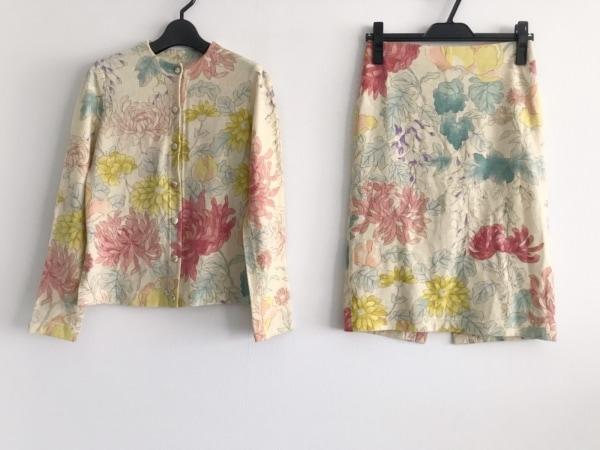ジュンコシマダ スカートセットアップ サイズ9 M レディース美品  フラワー