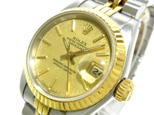 ROLEX(ロレックス) 腕時計 デイトジャスト 69173 レディース ゴールド