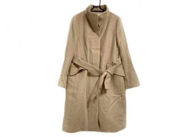 自由区/jiyuku(ジユウク) コート サイズ40 M レディース美品  ピンクベージュ 冬物