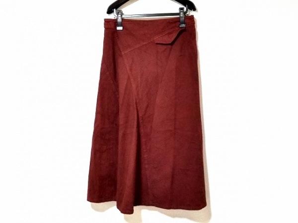 Y's(ワイズ) ロングスカート サイズ2 M レディース美品  ボルドー