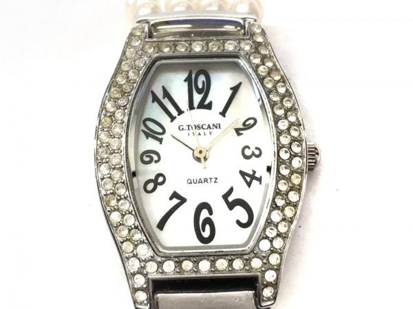 TOSCANI(トスカーニ) 腕時計美品  G.T.1001 レディース 白