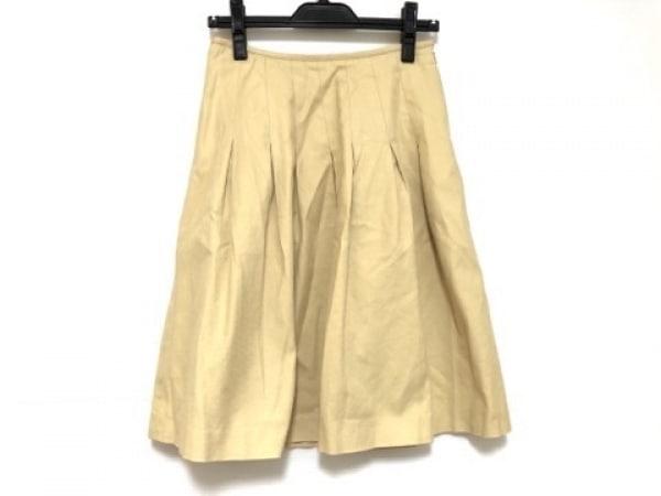 YORKLAND(ヨークランド) スカート サイズ9AR S レディース イエロー