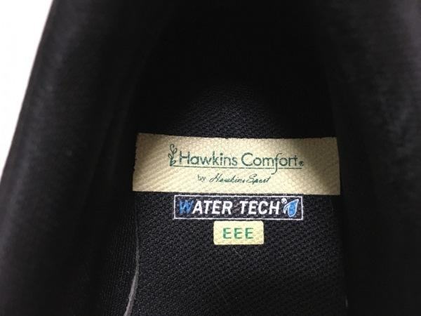 Hawkins(ホーキンス) スニーカー 23.5 レディース 黒 レザー
