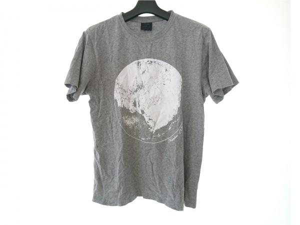 ナンバーナイン 半袖Tシャツ サイズF メンズ ライトグレー×白 ×MARLBORO
