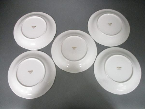 HANAE MORI(ハナエモリ) プレート新品同様  アイボリー×ゴールド×マルチ 陶器