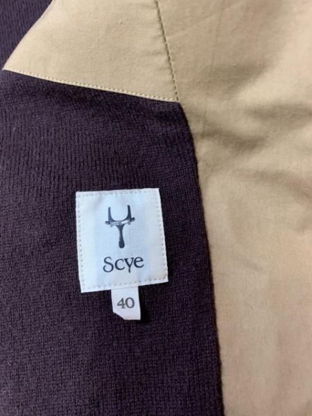 SCYE(サイ) ブルゾン サイズ40 M メンズ ライトブラウン 春・秋物