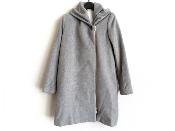 Loungedress(ラウンジドレス) コート サイズF レディース グレー 冬物