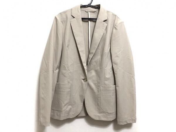 qualite(カリテ) ジャケット サイズ1 S レディース美品  ベージュ