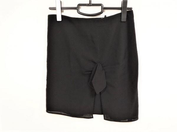 EMPORIOARMANI(エンポリオアルマーニ) スカート サイズ38 S レディース 黒