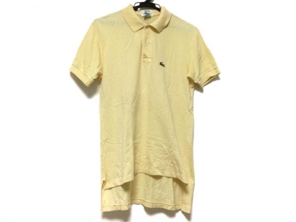 Lacoste(ラコステ) 半袖ポロシャツ サイズS メンズ イエロー
