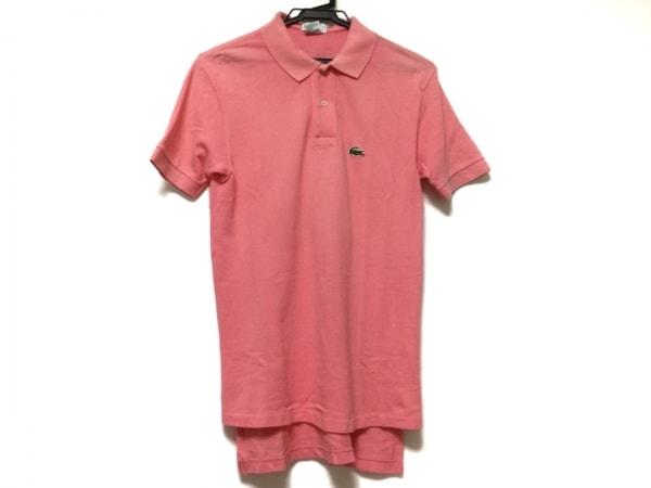 Lacoste(ラコステ) 半袖ポロシャツ サイズS メンズ ピンク