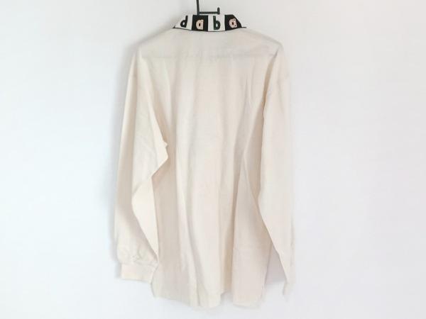Adabat(アダバット) 半袖ポロシャツ メンズ アイボリー×黒×マルチ 2
