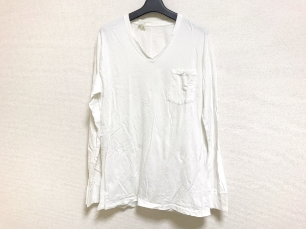 N.Hoolywood(エヌハリウッド) 長袖Tシャツ サイズ44 L メンズ 白