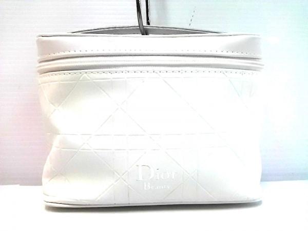 Dior Beauty(ディオールビューティー) バニティバッグ 白 合皮