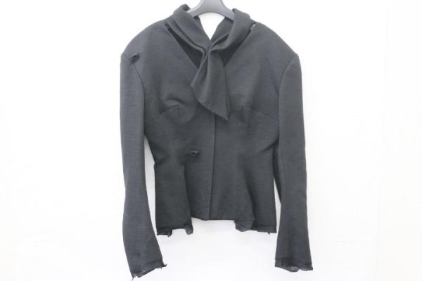 yohjiyamamoto(ヨウジヤマモト) ジャケット サイズS レディース 黒 変形デザイン