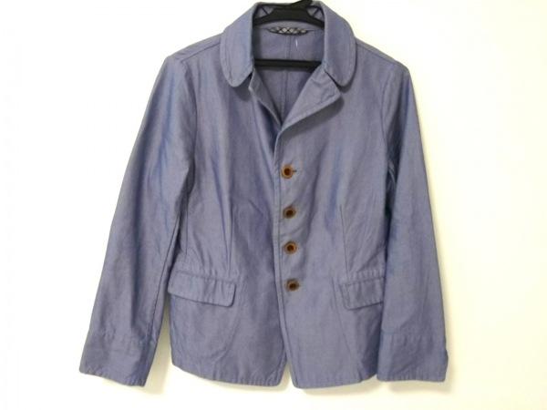 Umii 908(ウミ908) ジャケット レディース ブルー×白