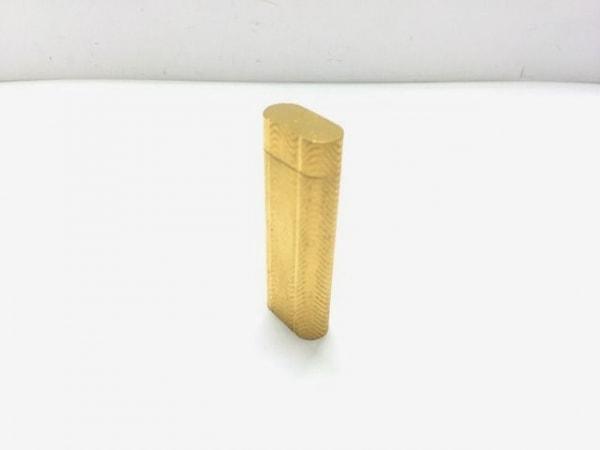 Cartier(カルティエ) ライター ゴールド 着火確認できず 金属素材