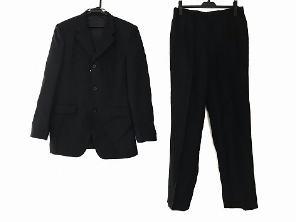 TAKEOKIKUCHI(タケオキクチ) シングルスーツ サイズ3 L メンズ 黒