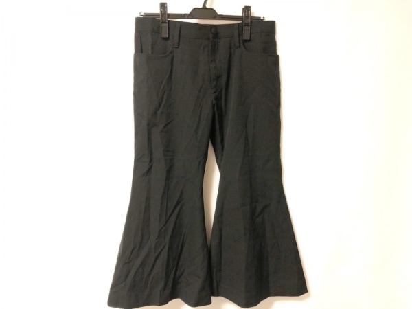 yohjiyamamoto(ヨウジヤマモト) パンツ サイズ1 S レディース 黒 ワイドパンツ