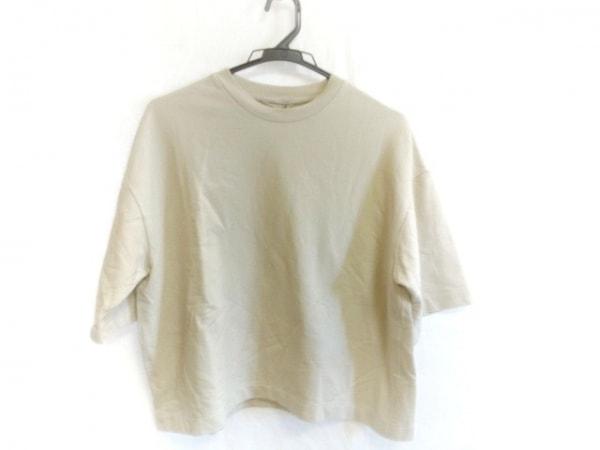 AURALEE(オーラリー) 半袖Tシャツ サイズ1 S レディース アイボリー